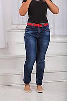 Джинсы женские большого размера, Турция пояс в комплекте качество люкс супер качество  дг №0664