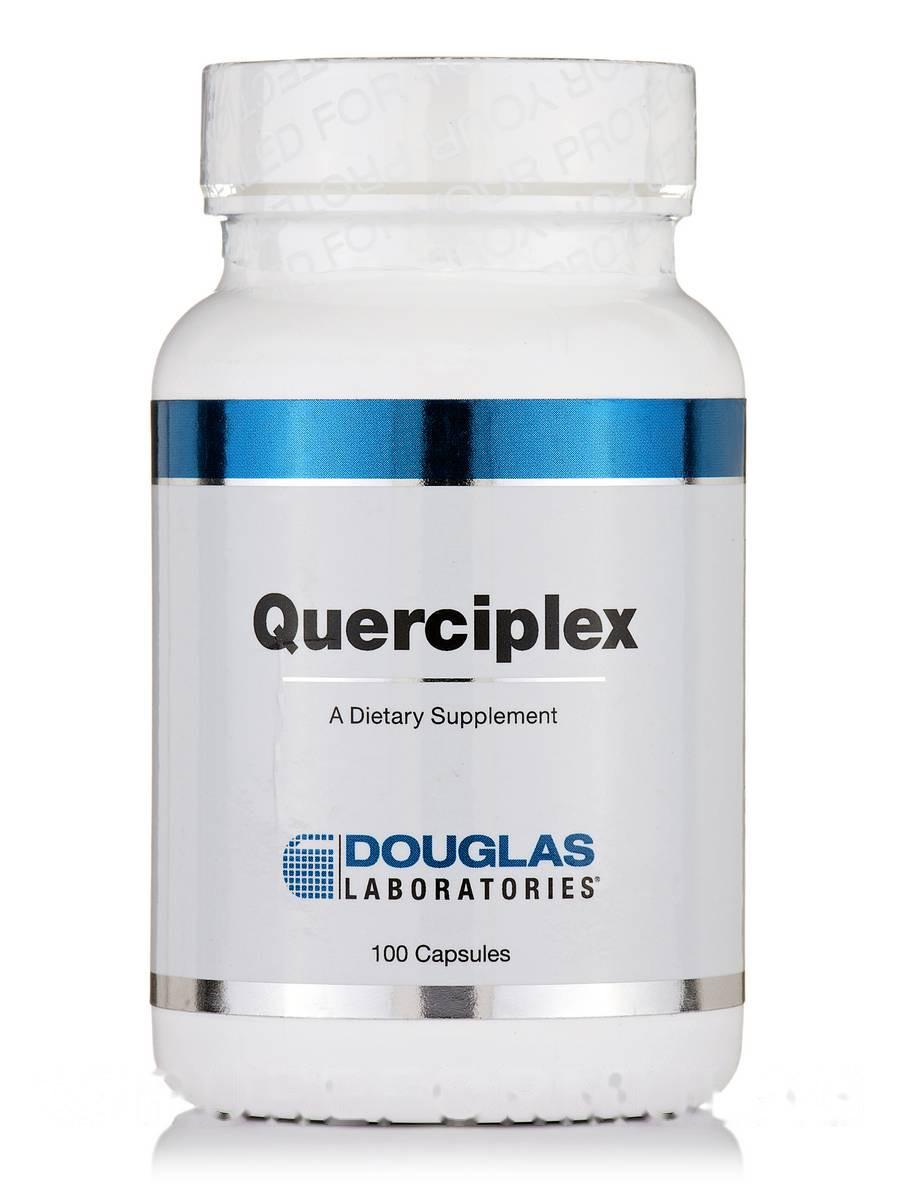 Кварцплекс, Querciplex, Douglas Laboratories, 100 Капсул