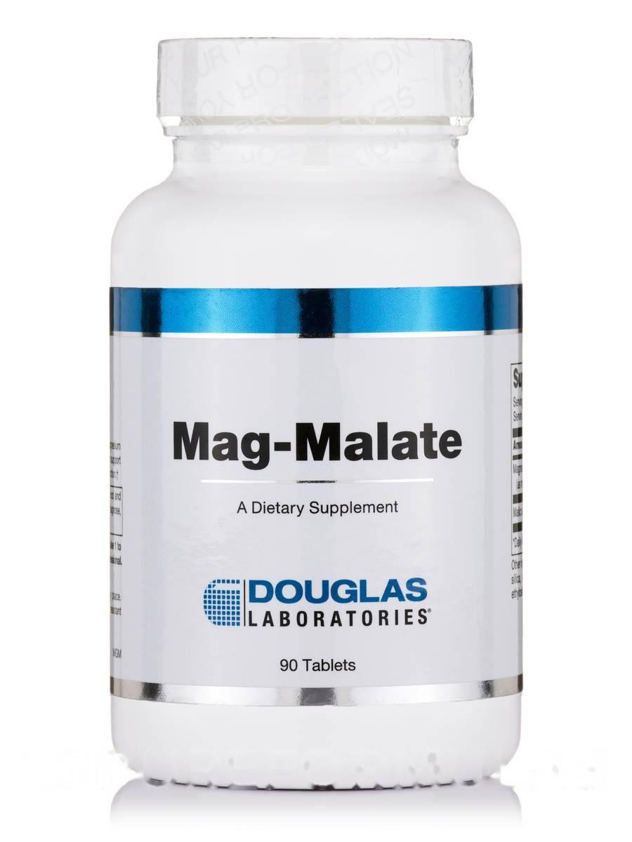 Мэг-Мэлэйт, Mag-Malate, Douglas Laboratories, 90 Tаблеток