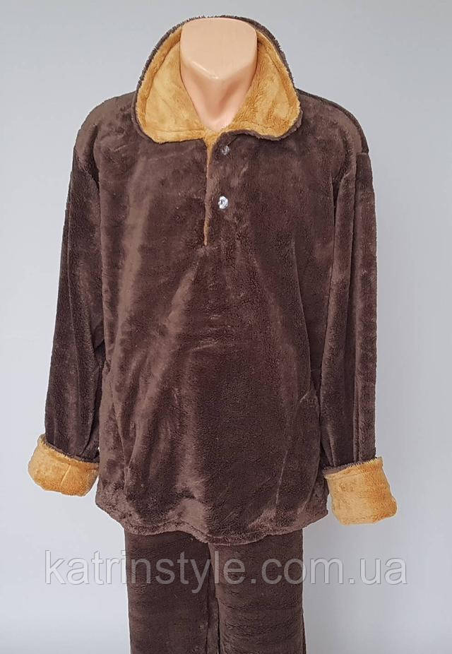 фотография пижама махровая мужская