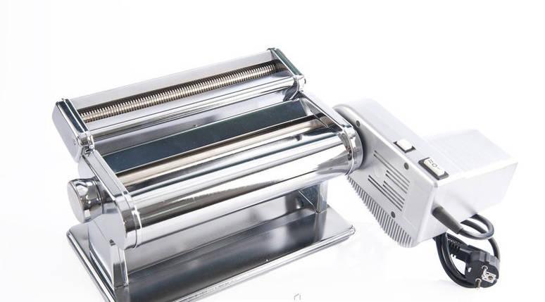 Электрическая машинка для раскатки теста+лапшерезка Akita JP 260mm Pasta Motor, фото 2