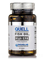Quell Fish Oil High EPA, 60 Softgels, фото 1