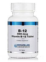 B-12 500 mcg, 100 Tablets, фото 1