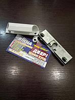 Комплект балконной ручки с защелкой ( алюминий )