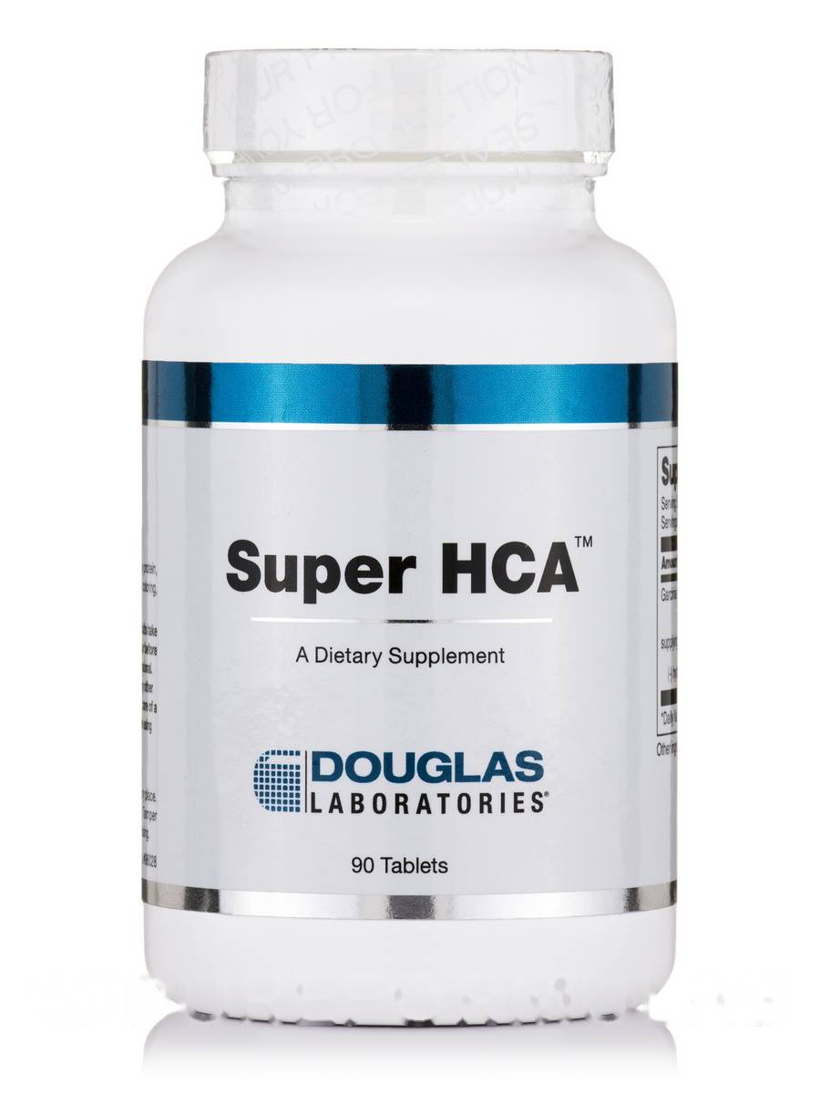 Супер HCA, Super HCA, Douglas Laboratories, 90 Таблеток