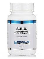 С.Б. К Сахаромицеты Буларди, S.B.C. Saccharomyces Boulardii, Douglas Laboratories, 50 Капсул, фото 1