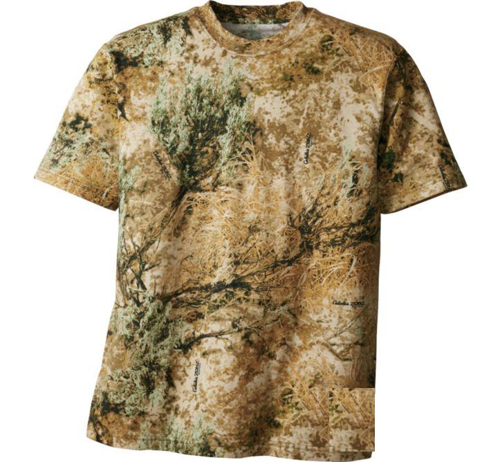 Футболка охотничья с коротким пукавом Hunting Zone Men's 100% Cotton Short-Sleeve Shirt