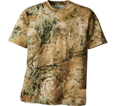 Футболка охотничья с коротким пукавом Hunting Zone Men's 100% Cotton Short-Sleeve Shirt, фото 2