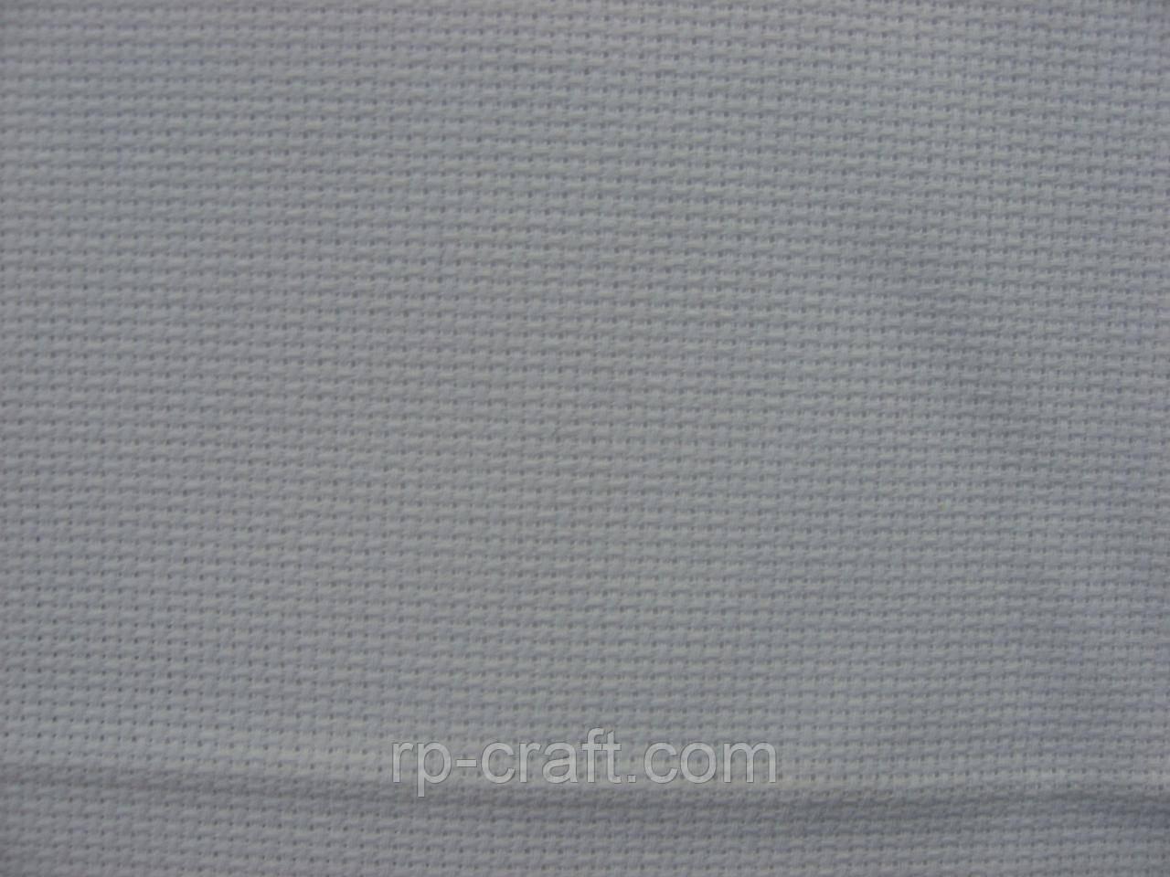 Отрез ткани для вышивки. Аида 16, белая, 35х50 см