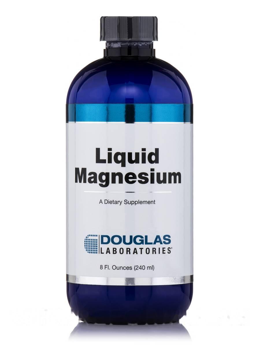 Жидкий магний, Liquid Magnesium, Douglas Laboratories, 8 фл. ун(240 мл)