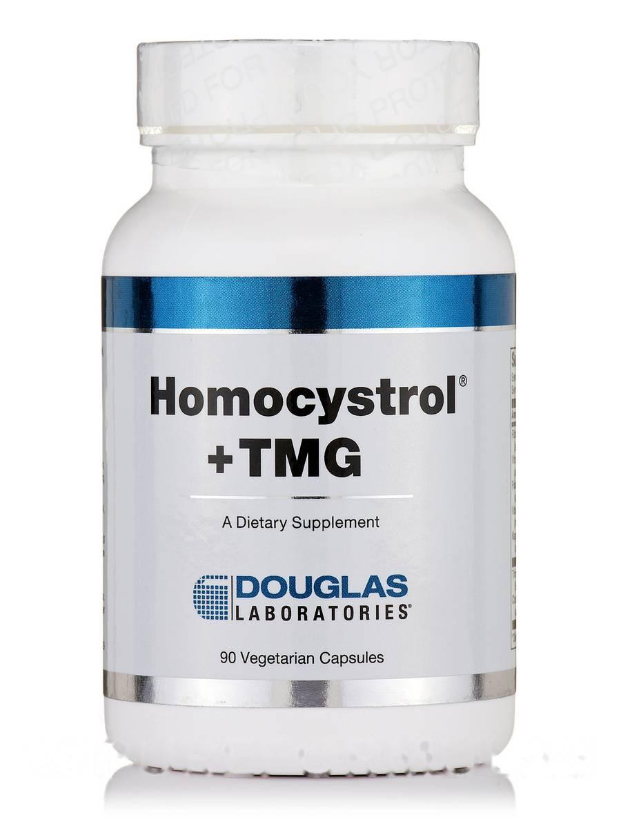 Гомоцистрол + TMG, Homocystrol +TMG, Douglas Laboratories, 90 вегетарианских капсул
