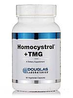 Гомоцистрол + TMG, Homocystrol +TMG, Douglas Laboratories, 90 вегетарианских капсул, фото 1