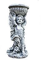 Ангел с чашей 52см. (Камень полистоун)