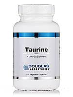 Таурин, Douglas Laboratories, 100 вегетарианских капсул, фото 1