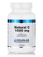 Натуральный C 1000 мг с биофлавоноидами, Douglas Laboratories, 100 таблеток, фото 1