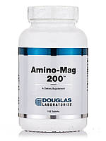 Амино-Mег 200, Amino-Mag, Douglas Laboratories, 100 Таблеток, фото 1