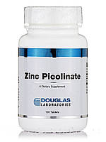 Пиколинат цинку, Zinc Picolinate, Douglas Laboratories, 100 таблеток, фото 1