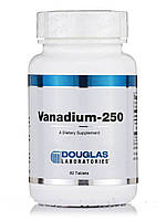 Ванадий-250, Vanadium-250, Douglas Laboratories, 60 таблеток, фото 1