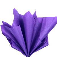 Бумага тишью, цвет сиреневый, 75*50 см, 5 шт