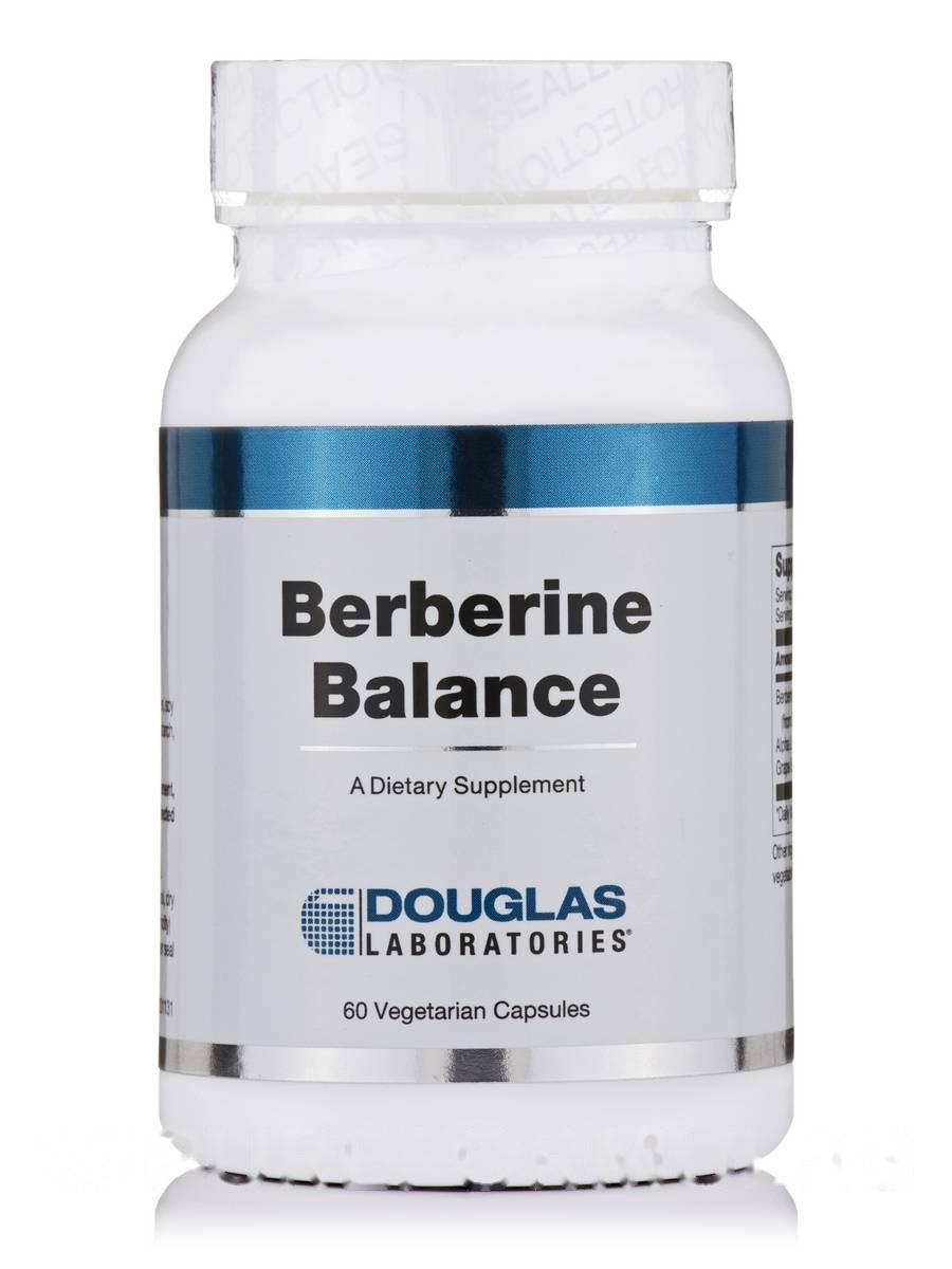 Баланс берберін, Berberine Balance, Douglas Laboratories, 60 капсул вегетаріанських