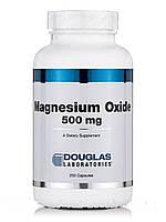 Оксид магния 500 мг, Magnesium Oxide, Douglas Laboratories, 250 капсул, фото 1