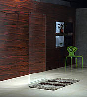 Стенка 900*1900 мм, каленое прозрачное стекло 8мм