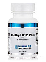 Метил B12 Плюс, Methyl B12, Douglas Laboratories, 90 Леденцы, фото 1