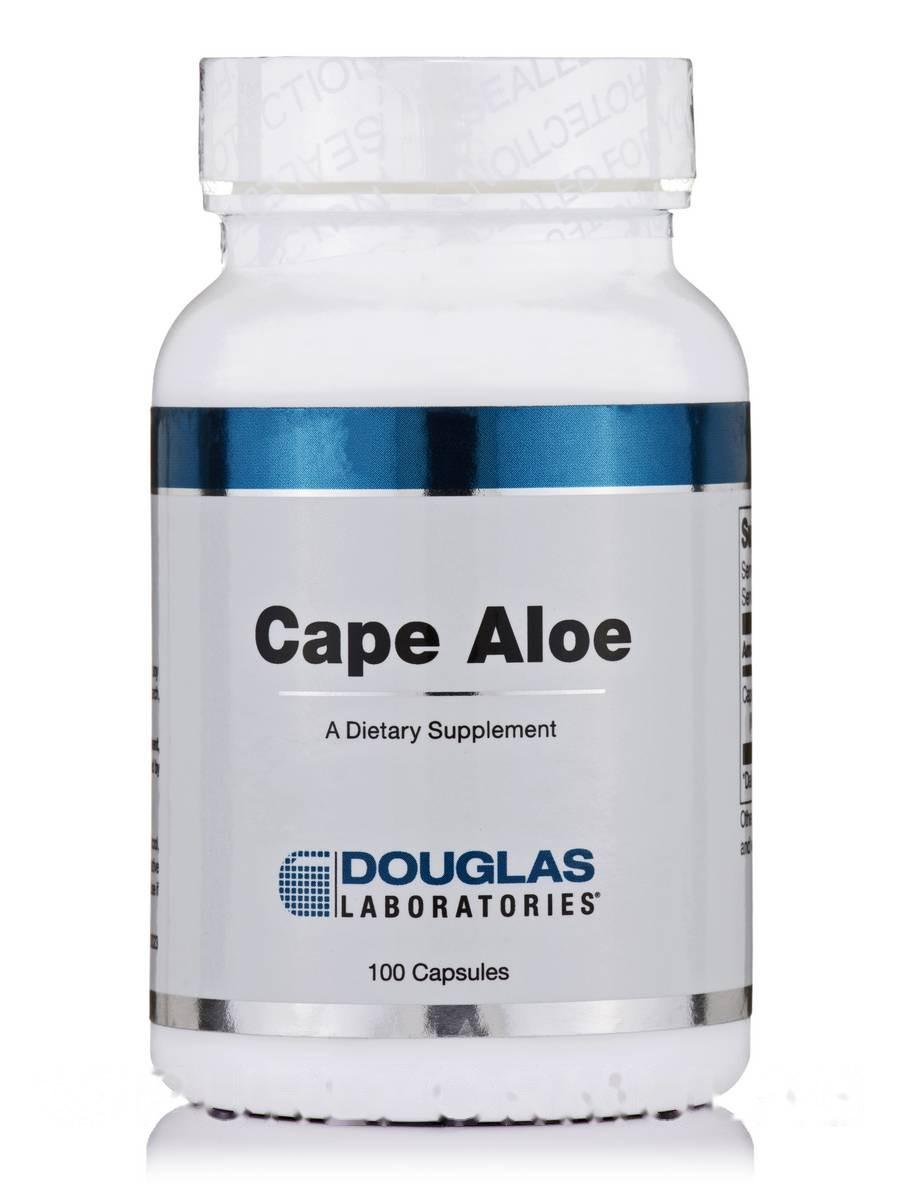 Мыс Алоэ, Cape Aloe, Douglas Laboratories, 100 капсул