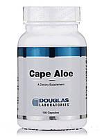 Мыс Алоэ, Cape Aloe, Douglas Laboratories, 100 капсул, фото 1