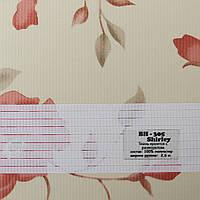 Рулонные шторы День-Ночь Ткань Цветы ВН-305 Shirley