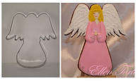 """Вырубка """"Ангел с крыльями"""", 1 шт"""