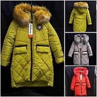 Курточка детская с удлиненной спинкой