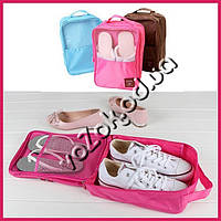 Сумка органайзер для обуви Travel Series Shoe Pouch