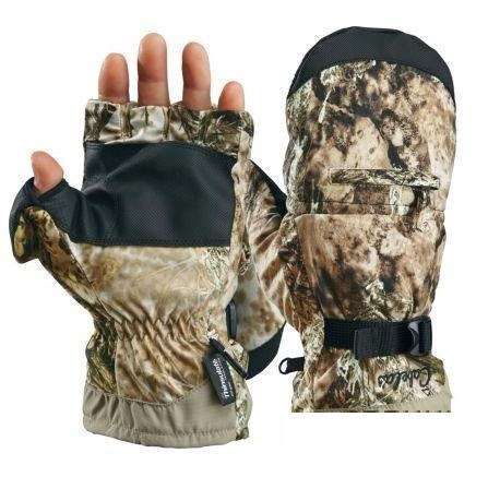 Перчатки охотничьи утепленные Cabela's Men's MT050® Extreme II Glomitts with Thinsulate™ Insulation