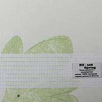 Рулонные шторы День Ночь Ткань Цветы ВН-308 Spring