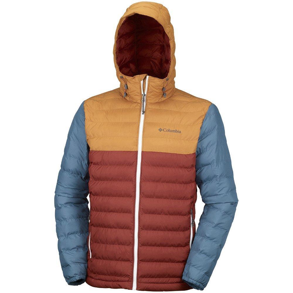 Оригинальная зимняя мужская куртка COLUMBIA POWDER LITE HOODED JACKET aa8266d695809