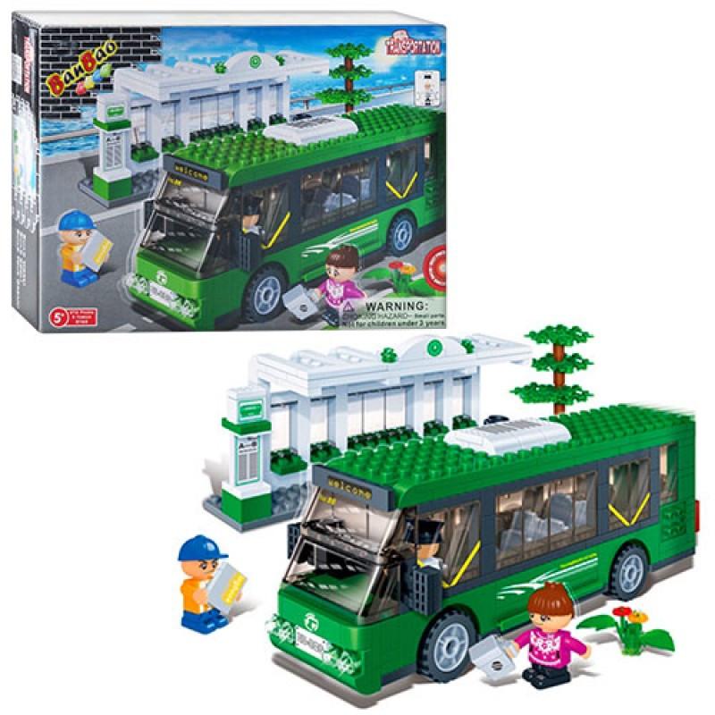 Конструктор BANBAO 8768 автобусная остановка
