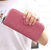Розовый женский кошелек, фото 1