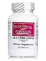 Allithiamine Vitamin B1 50 mg, 60 Capsules, фото 1