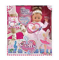 Говорящая кукла Bambolina Molly Балерина озвуч. укр. яз. 40 см Bambolina BD1338-50SUA