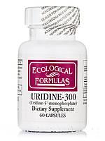 Uridine-300 (Uridine-5'-monophosphate), 60 Capsules, фото 1