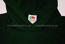cc27eb07 Детская классическая толстовка с капюшоном Тёмно-зелёная Fruit Of The Loom  62-043-