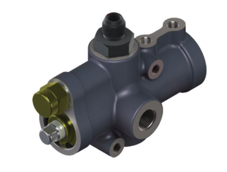 Механический гидравлический клапан направляющий (Hydraulic Mechanic Directional Valve)