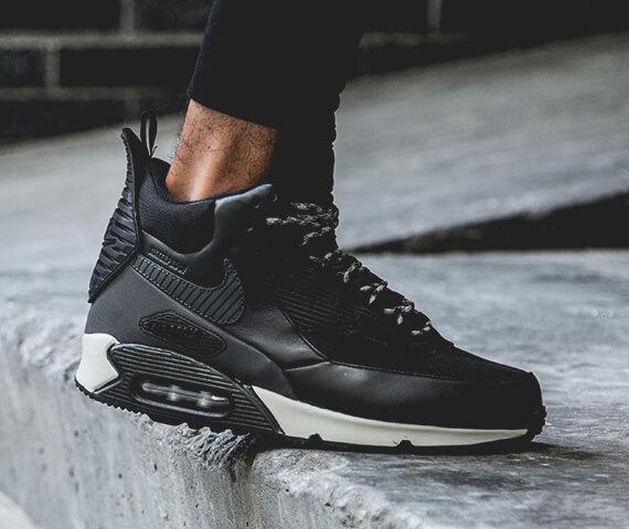 Кроссовки Nike Air Max Black фото