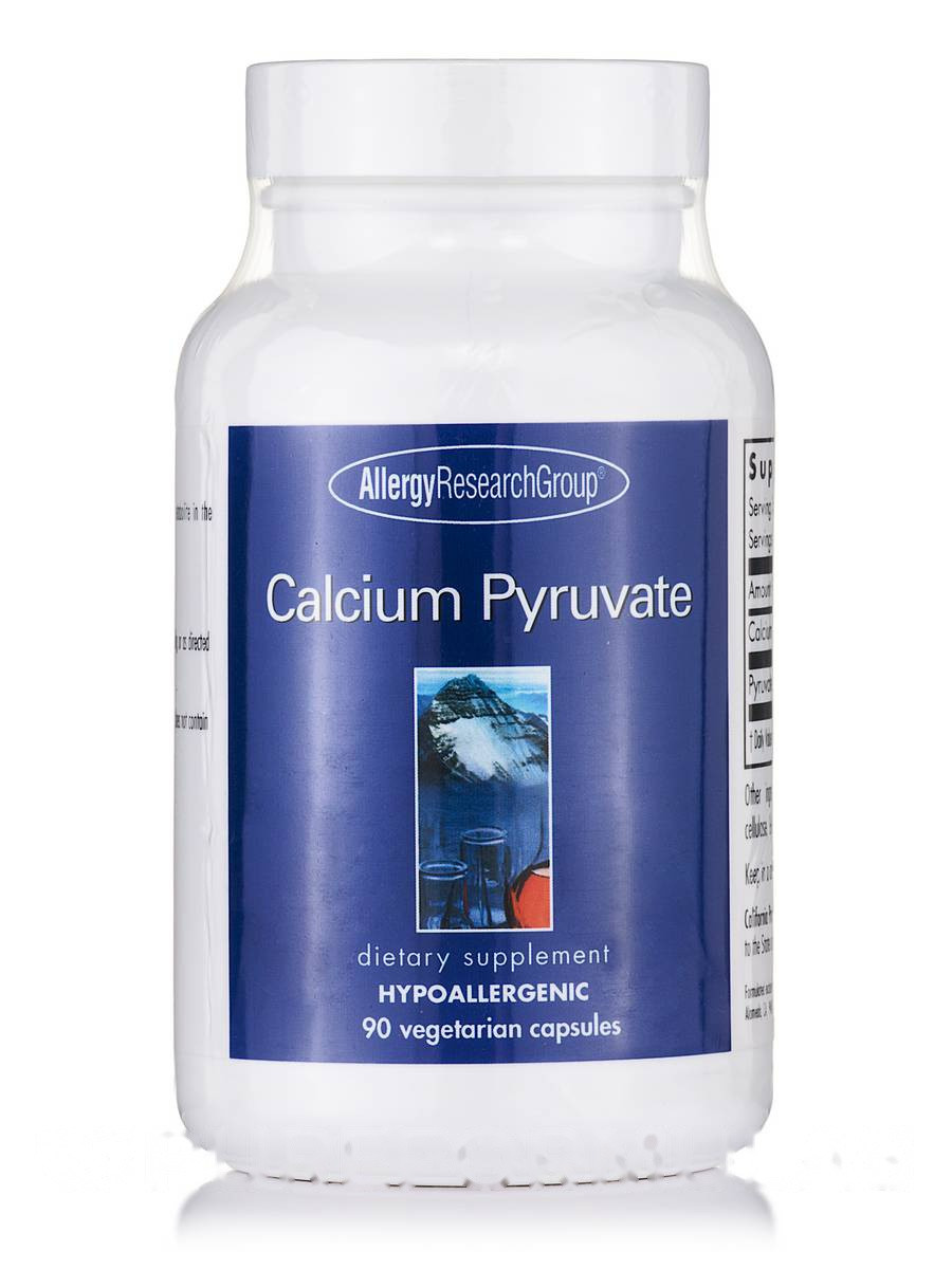 Calcium Pyruvate, 90 Vegetarian Capsules