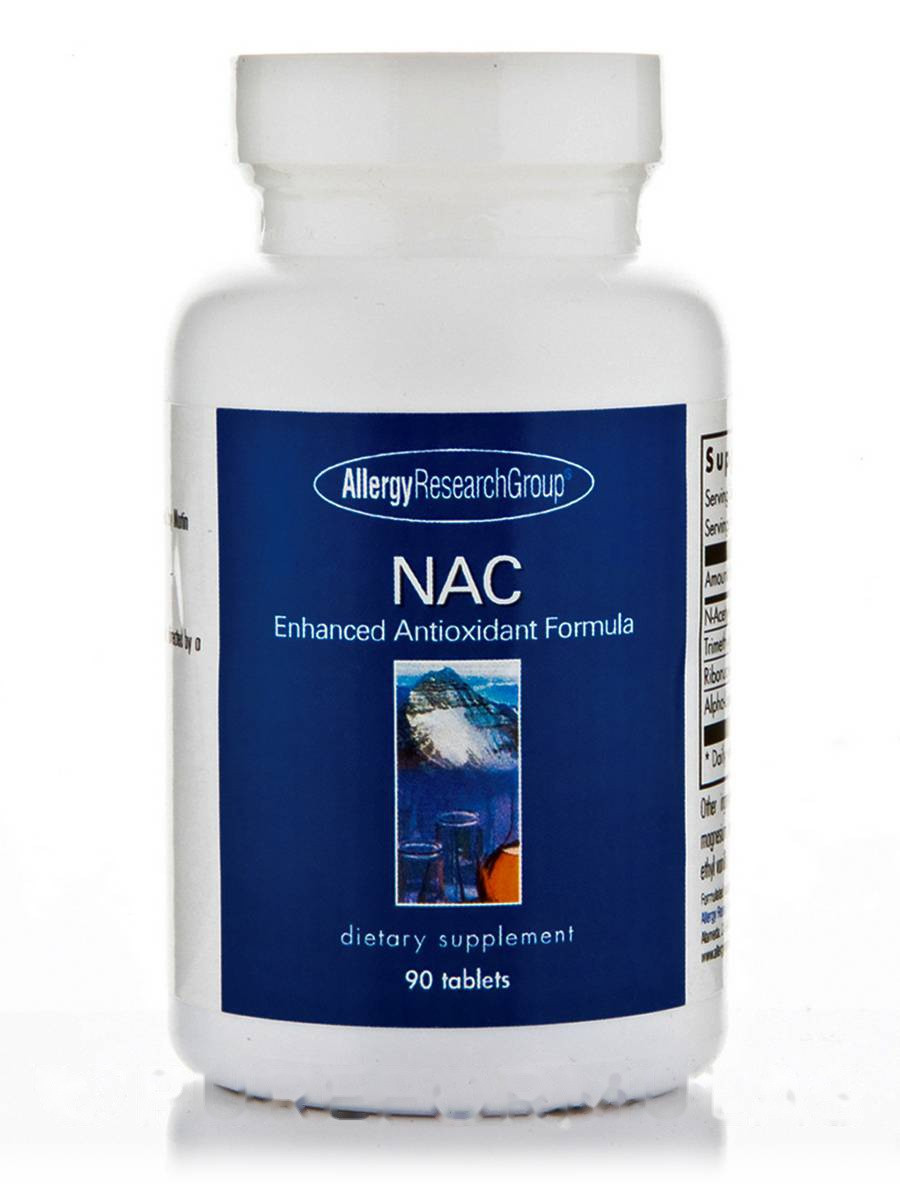 NAC Enhanced Antioxidant Formula, 90 Tablets