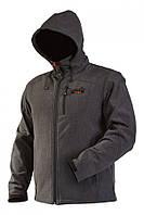 Куртка мембранная непродуваемая с капюшоном Norfin VERTIGO (soft shell) / XL