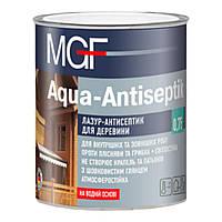 МГФ MGF Aqua-Antiseptik Лазурь-антисептик для дерева