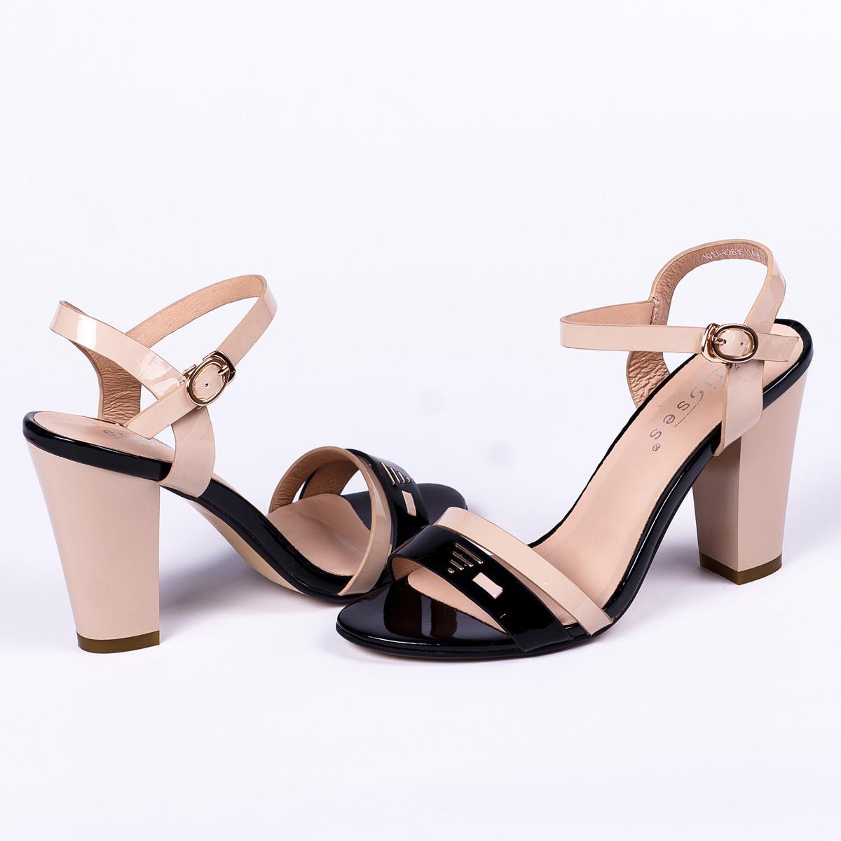 572d313c34829f Лаковые босоножки женские Erisses - Інтернет - магазин жіночого та  чоловічого взуття в Львовской области