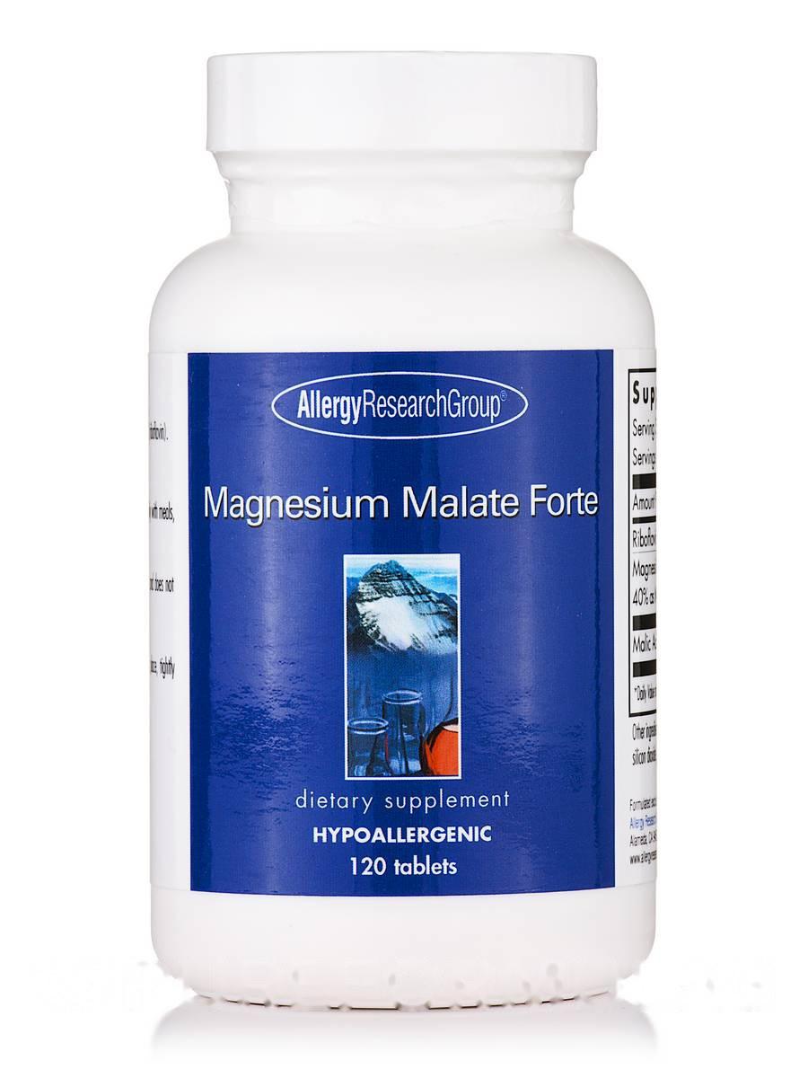 Magnesium Malate Forte, 120 Tablets